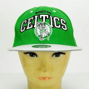 Boston Celtics Mitchell & Ness Hardwood NBA Hat